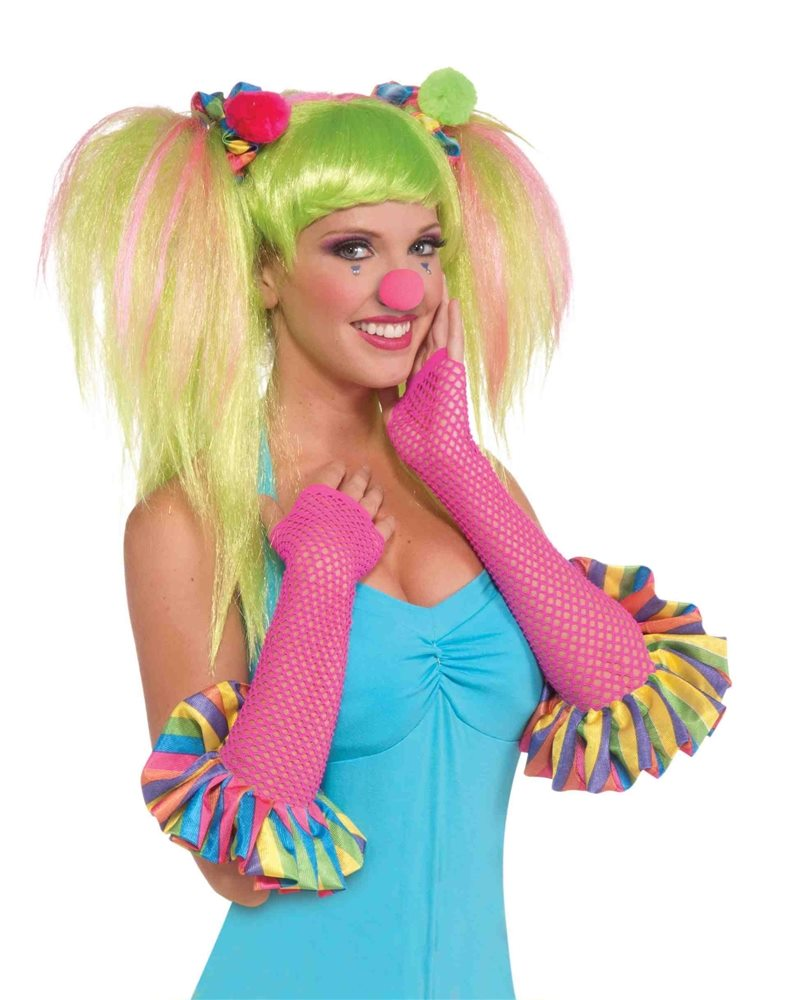 Picture of Circus Sweetie Fishnet Gloves