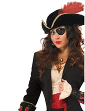 Picture of Black Sequin Pirate Eyepatch