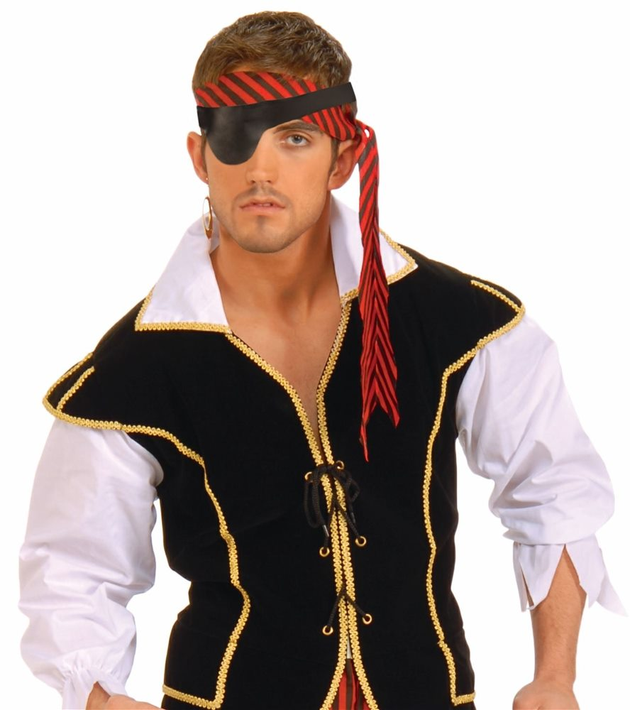 Picture of Black Pirate Eyepatch