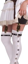 Picture of Steampunk Brown Garter Buckles