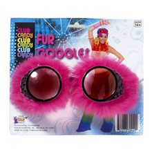 Picture of Furry Pink Goggles