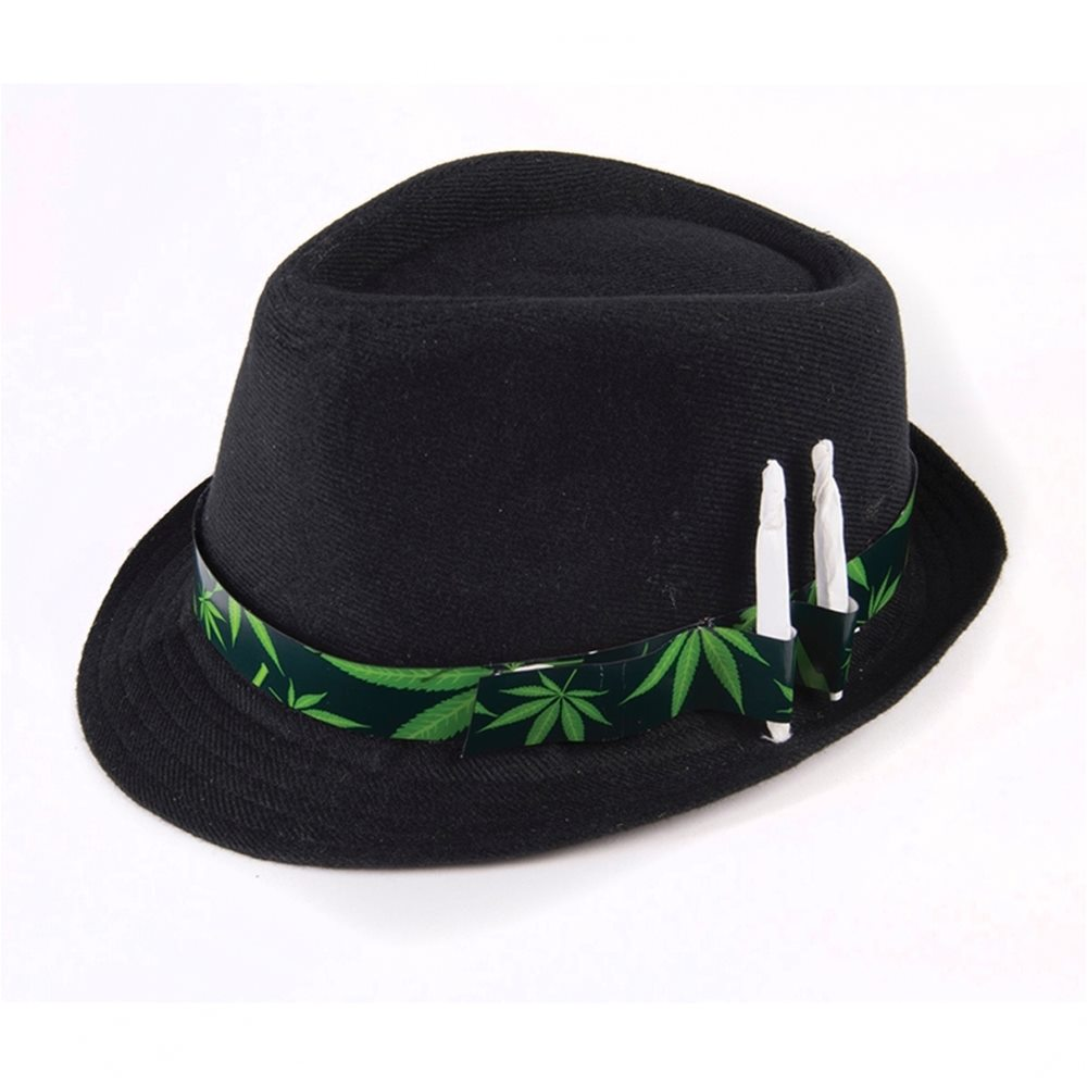 Picture of Cannabis Fedora Hat