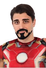 Picture of Avengers 2: Age of Ultron Tony Stark Moustache & Goatee