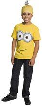 Picture of Minion Child Shirt & Headpiece Set