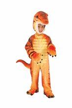 Picture of Orange Plush Raptor Child & Toddler Costume