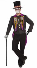 Picture of Formal Day of the Dead Adult Mens Costume