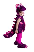Picture of Roaring Purple Dragon Toddler Costume