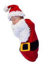 Picture of Santa Baby Newborn Costume