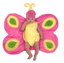 Picture of Beautiful Butterfly Caterpillar Newborn Costume with Swaddle Wings