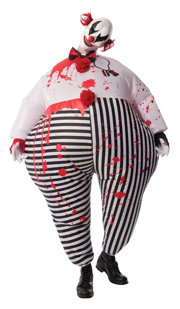 Picture of Inflatable Evil Clown Adult Mens Costume