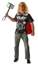 Picture of Avengers 2: Age of Ultron Thor Adult Mens T-Shirt & Cape