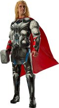 Picture of Avengers 2: Age of Ultron Deluxe Thor Adult Mens Costume