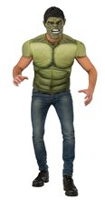 Picture of Avengers 2: Age of Ultron Hulk Adult Mens Muscle Shirt & Mask