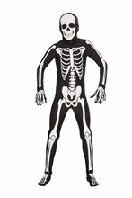 Picture of Disappearing Man Bones Teen Bodysuit