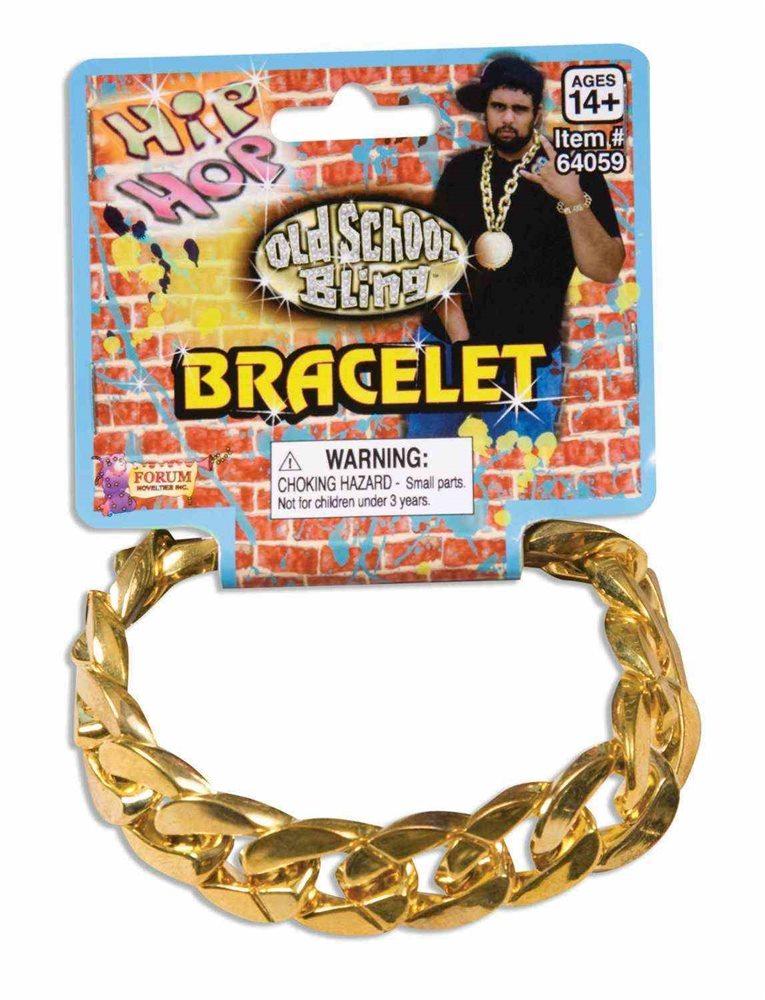 Picture of 80s Big Link Gold Bracelet