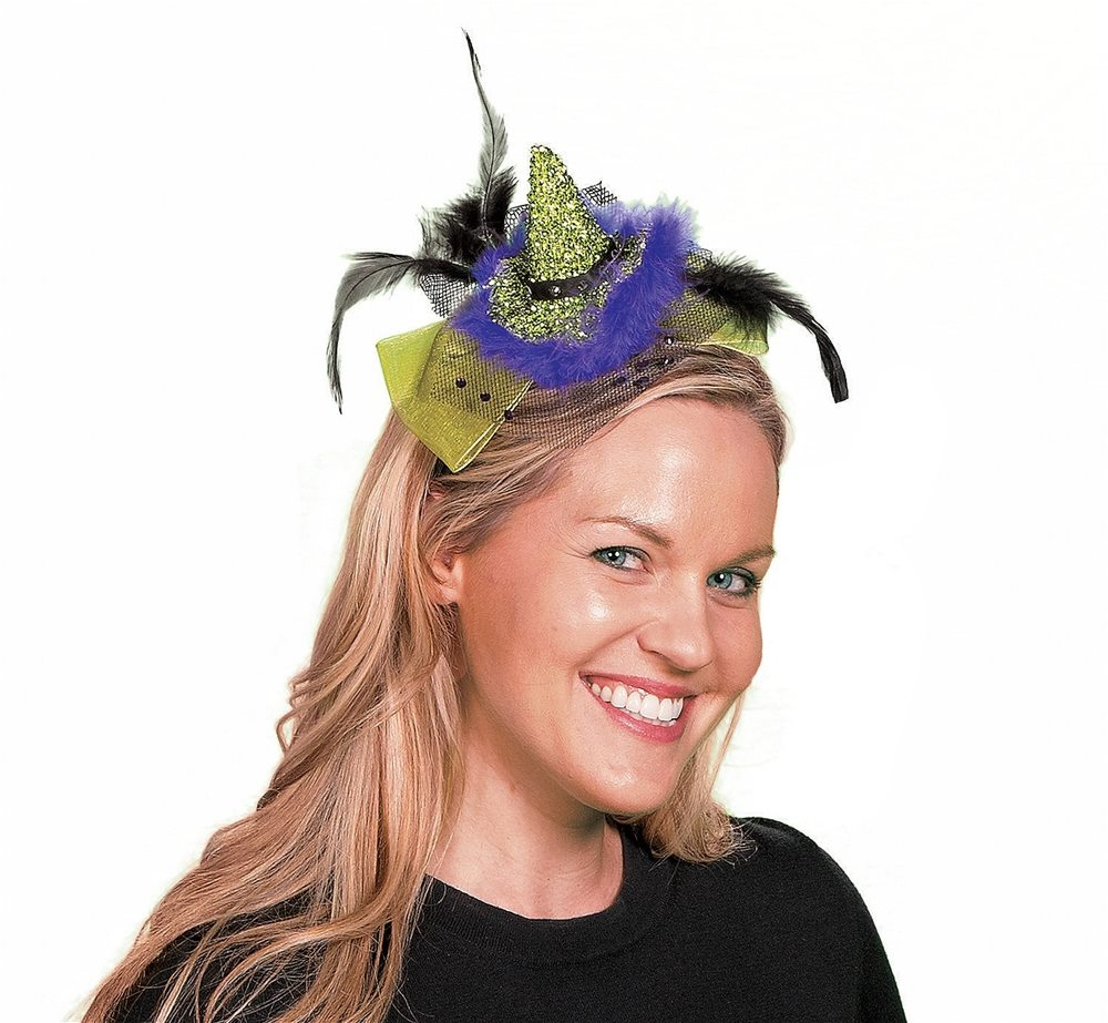 Picture of Green Witch Hat Headband