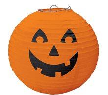 Picture of Halloween Pumpkin Paper Lantern 18in