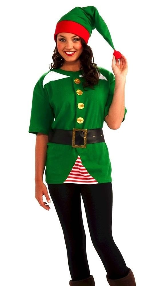 Picture of Jolly Elf Adult Unisex Costume Kit