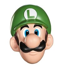 Picture of Super Mario Brothers Luigi Adult Mask
