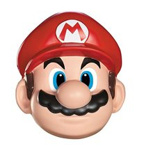 Picture of Super Mario Brothers Mario Adult Mask