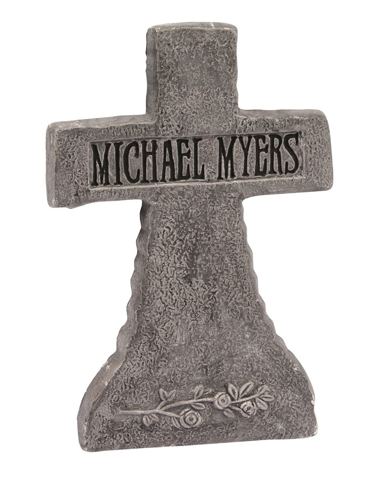 Picture of Michael Myers Tombstone 21in