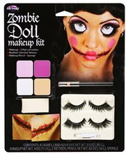 Picture of Zombie Doll Makeup Kit