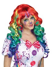 Picture of Rainbow Curlz Adult Wig