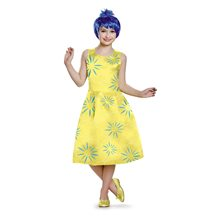 Picture of Inside Out Movie Deluxe Joy Child Costume