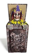 Picture of Zombie Jester in the Box Animated Prop