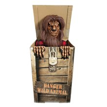 Picture of Moonlight Werewolf in the Box Animated Prop