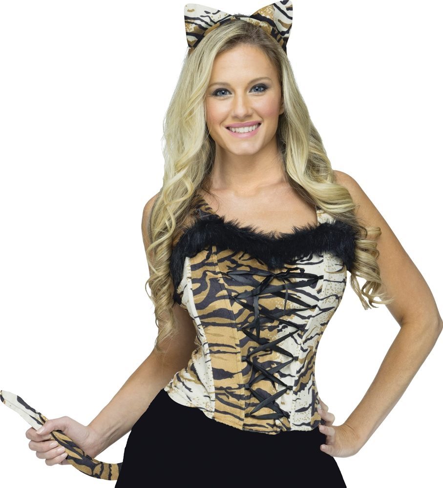 Picture of Sexy Tiger Instant Costume Kit