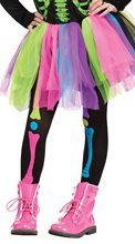 Picture of Rainbow Bonez Child Tights
