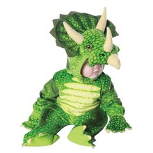 Picture of Green Triceratops Toddler Costume