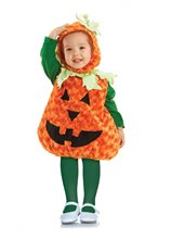 Picture of Fuzzy Pumpkin Toddler Costume