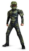 Picture of Halo Deluxe Master Chief Muscle Child Costume