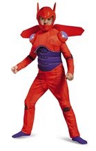 Picture of Big Hero 6 Deluxe Red Baymax Child Costume