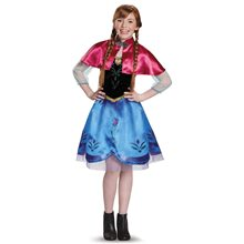 Picture of Frozen Traveling Anna Tween Costume