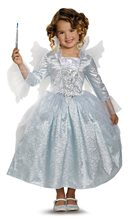 Picture of Cinderella Movie Deluxe Fairy Godmother Child Costume