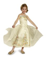 Picture of Cinderella Movie Wedding Dress Child Costume