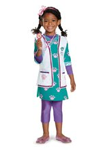 Picture of Doc McStuffins Deluxe Pet Vet Toddler & Child Costume