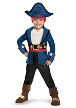 Picture of Captain Jake Deluxe Toddler Costume