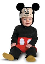 Picture of Mickey Mouse Deluxe Infant Costume