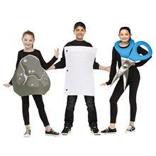 Picture of Rock, Paper, Scissors Child Costume Set
