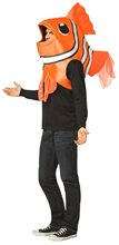 Picture of Clown Fish Over the Head Adult Unisex Costume