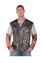 Picture of Rough Rider Biker Adult Mens Shirt