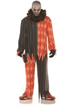 Picture of Demented Evil Clown Adult Mens Costume