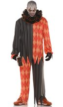 Picture of Demented Evil Clown Teen Costume