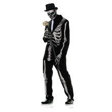 Picture of Bone Daddy Skeleton Adult Mens Costume