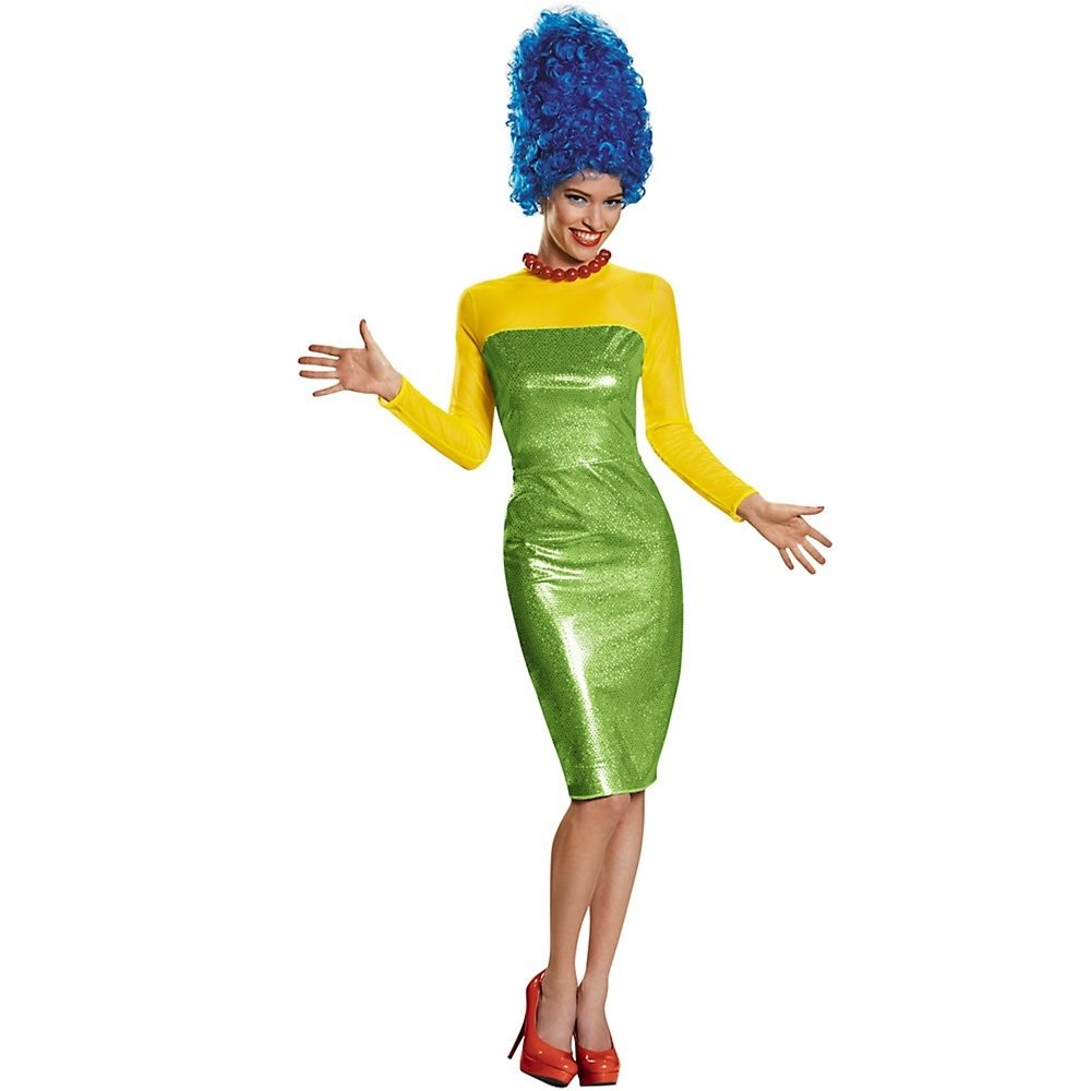 Picture of The Simpsons Marge Deluxe Adult Womens Costume