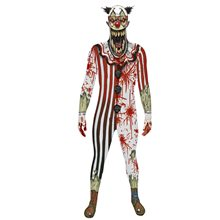 Picture of Jaw Dropper Clown Morphsuit Adult Unisex Costume